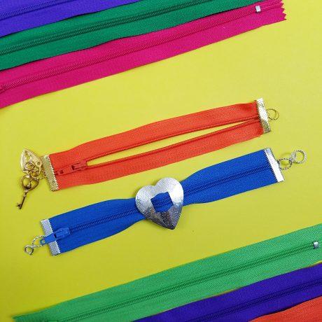 zipper bracelets 5