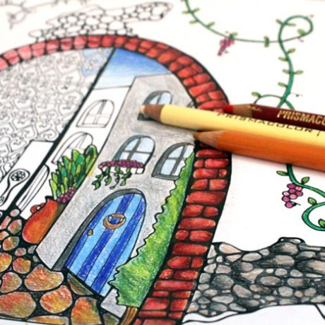 arched-city-coloring-page-for-adults-5