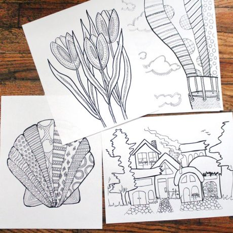 postcards-coloring-pages-1